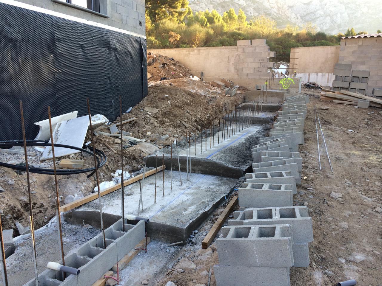drainage maison neuve great comment faire des fondations pour une maison beau les meilleures. Black Bedroom Furniture Sets. Home Design Ideas
