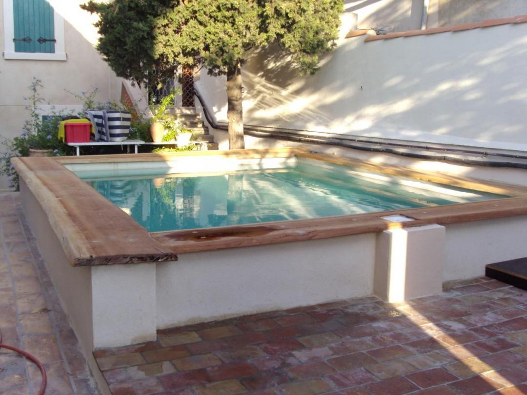 Maçonnerie piscine marseille villa - 15